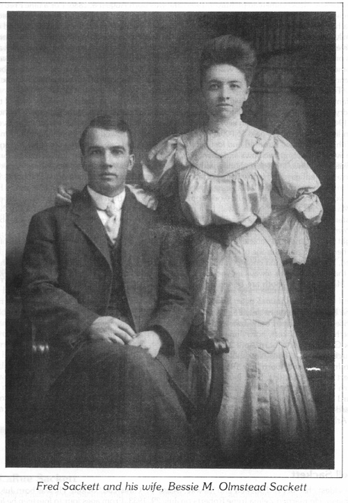 Fred and Bessie Olmstead Sackett