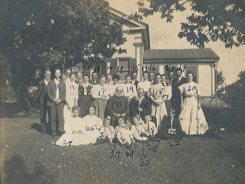 The Sackett Family Association - Erasmus Mason Sackett (1822