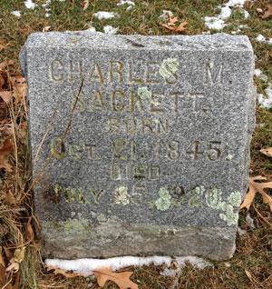 The Sackett Family Association - Charles Melvin Sackett